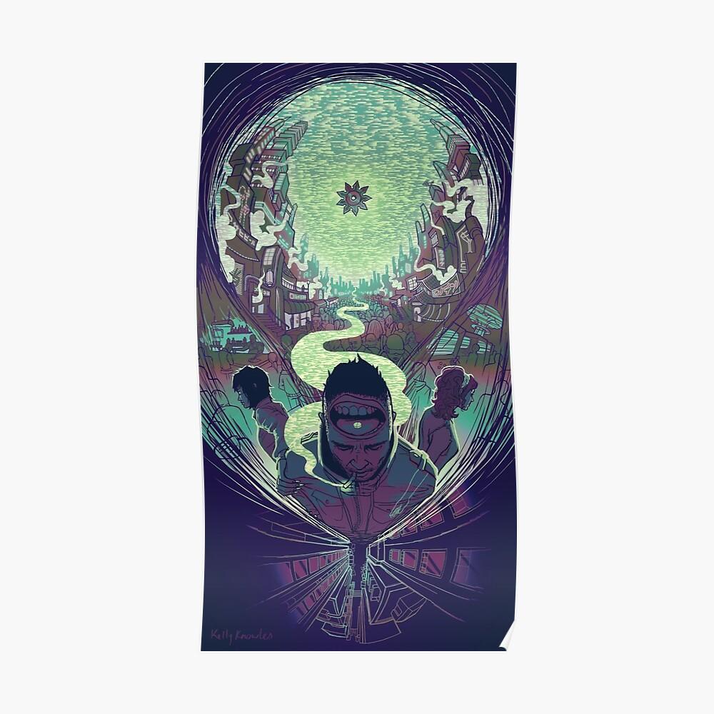 Neuromancer: Case Poster