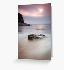 Bedruthan Rocks, Cornwall, England Greeting Card
