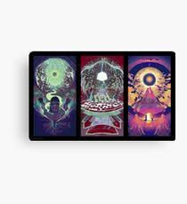 Neuromancer Triptych Canvas Print
