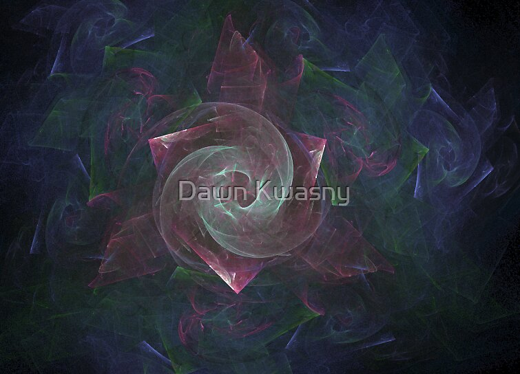 Blowing on the Pinwheel by Dawn Kwasny
