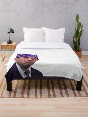 Michael Scott - Prison Mike Throw Blanket