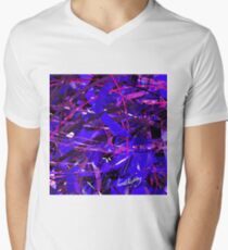 Purple Study V-Neck T-Shirt