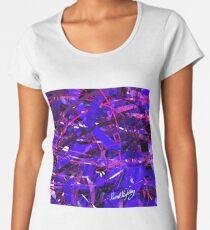 Purple Study Women's Premium T-Shirt