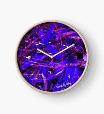 Purple Study Clock