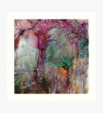 Qualia's Meadow R Art Print