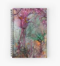 Qualia's Meadow R Spiral Notebook