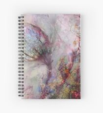 Qualia's Meadow L Spiral Notebook