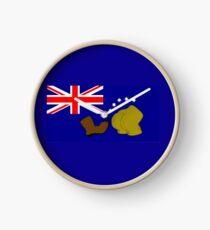 Simpsons Australian Flag Clock