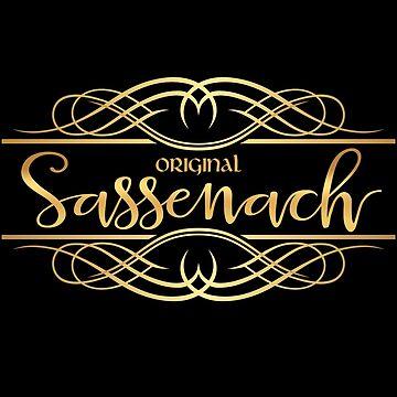Original Sassenach by LythiumArt