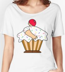 Cupcake? Anyone? Women's Relaxed Fit T-Shirt
