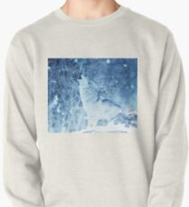 Howling Arctic Wolf Pullover