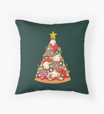 Pizza on Earth - Pepperoni Throw Pillow