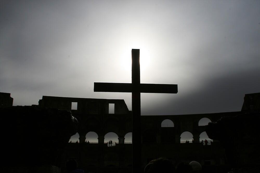 Colosseum Cross by Tarryn Godfrey