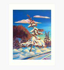 Nelson Nordic Art Print