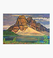 Sunburst Peak Photographic Print