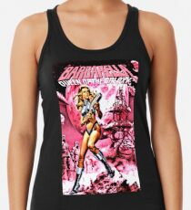 BARBARELLA QUEEN OF THE GALAXY RETRO SCI-FI Women's Tank Top