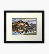 Drinnon Pass Framed Print