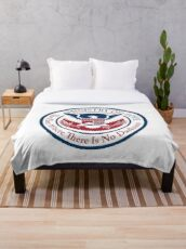 ministry of love, official seal Throw Blanket
