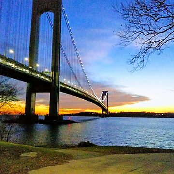#Verrazano-Narrows #Bridge #VerrazanoNarrowsBridge #water architecture suspensionbridge travel river sky city by znamenski