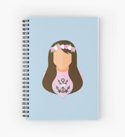 Saint Philomena Spiral Notebook