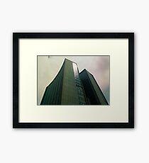 Big City Skyline........the pastel set  #one Framed Print