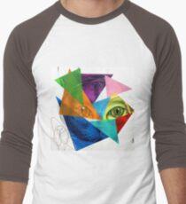 Chatpardeur Men's Baseball ¾ T-Shirt