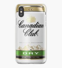 Canadian Club Dry iPhone Case/Skin