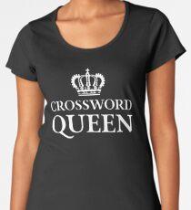 Crossword Queen Women's Premium T-Shirt