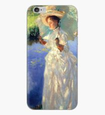 Vintage John Singer Sargent Morning Walk 1888 Fine Art iPhone Case