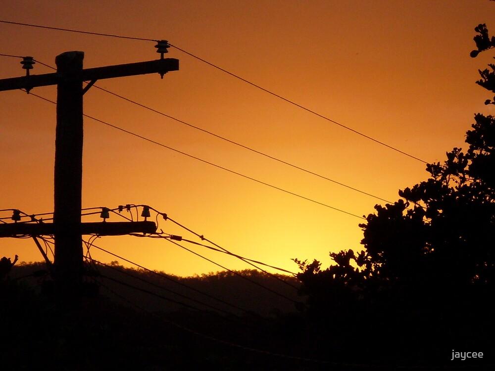Beautiful sunset by jaycee