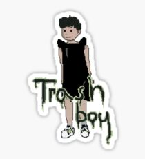 Trash Boy Sticker