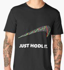 Just hold it Bitcoin-Trader Tshirt  Men's Premium T-Shirt