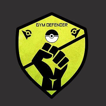 Gym Defender - Yellow by jomzojeda