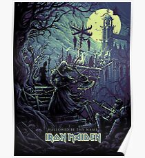 Iron Maiden Hallowed By Thy Name  Poster