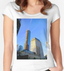 New York, NY Women's Fitted Scoop T-Shirt