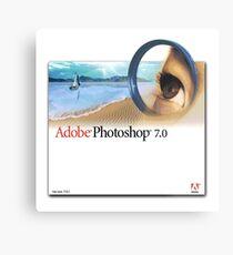 Photoshop 7.0 Metal Print