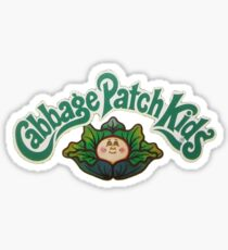 Cabbage Patch Doll Logo Sticker