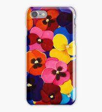 Blanket of Pansies iPhone Case/Skin