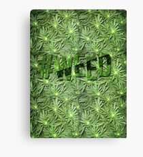 #WEED Canvas Print