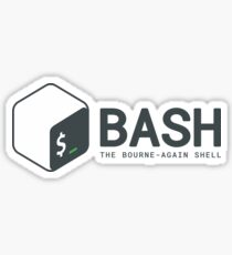 Bash logo Sticker