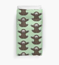 This sloth wants a hug!! Duvet Cover