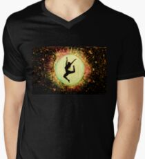 Inner Goddess Mens V-Neck T-Shirt