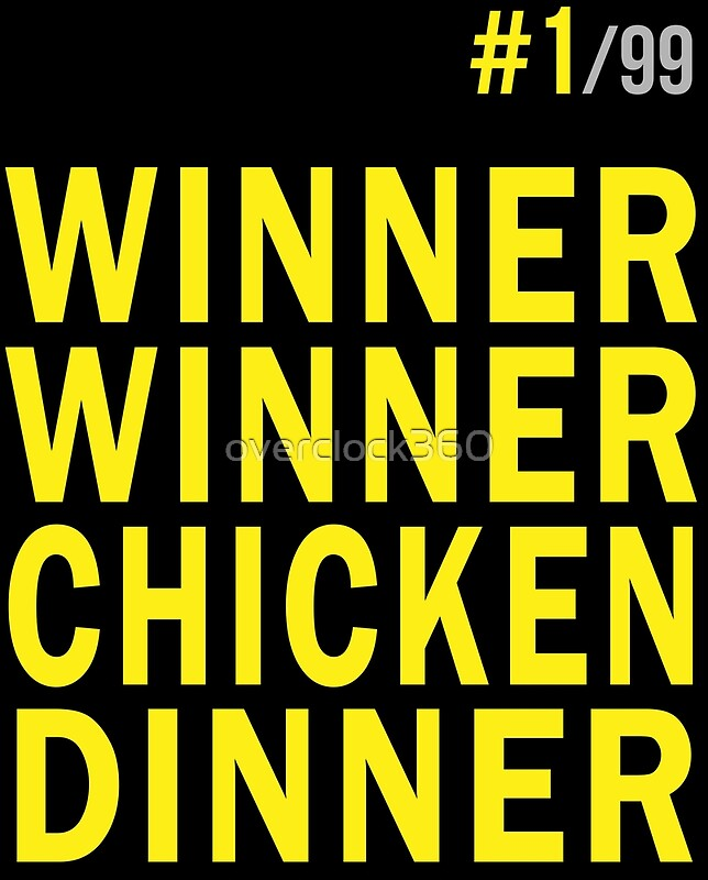 Winner Winner Chicken Dinner Pubg Greeting Cards By Overclock360