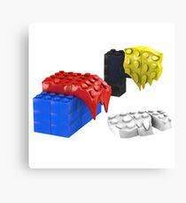 Dali Toy Bricks Canvas Print