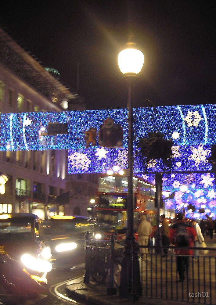 Christmas lights, Regent St, London by tash01