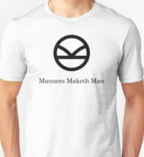 Kingsman Secret Service - Manners Maketh Man Black T-Shirt