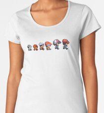 Pokemon evolution Women's Premium T-Shirt