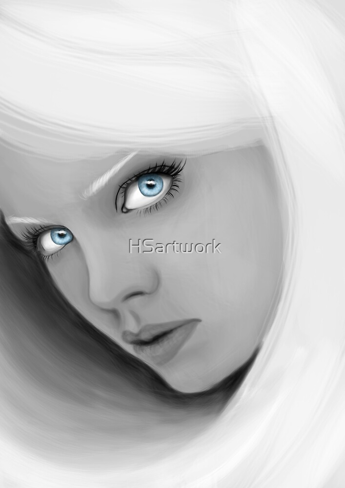 The Ice Princess by HSartwork