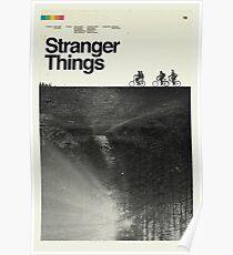 Stranger Things Polaroid Poster