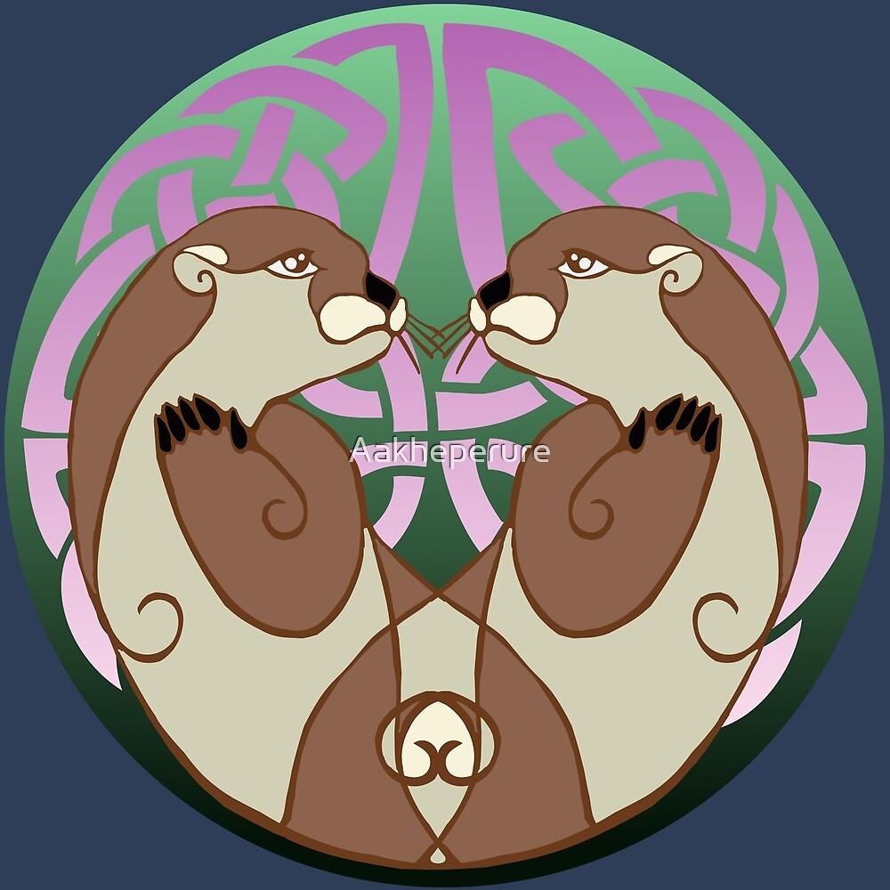 Dyfrgwn   Otters by Aakheperure